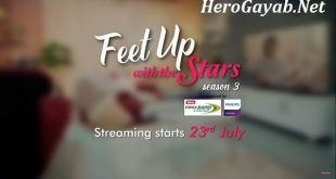 Feet Up with the Stars Season 3 episode